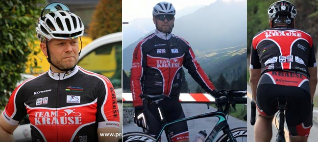 xtreme teamkrause cyclingclothes
